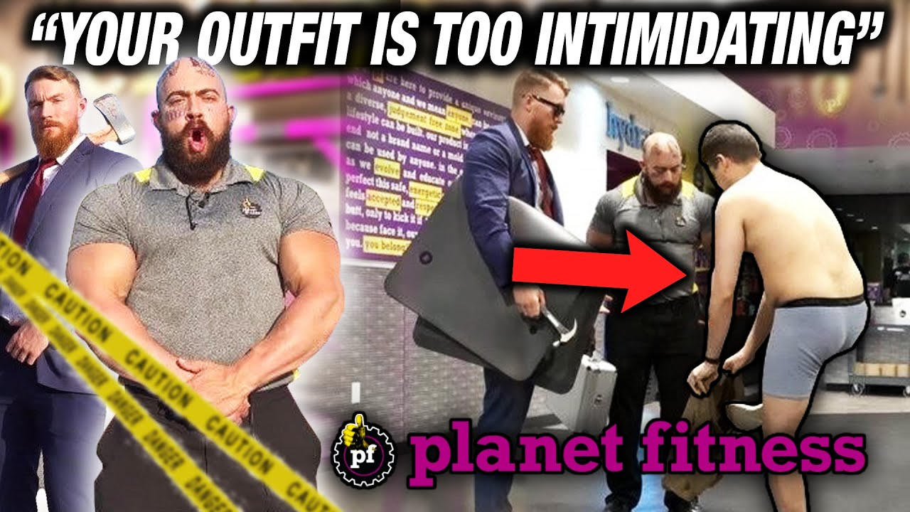 RUSSIAN GANGSTER FAKE PLANET FITNESS EMPLOYEE PRANK ft. No One's Safe