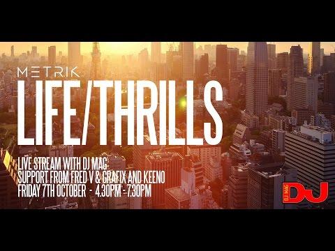 Metrik , Fred V & Grafix & Keeno LIVE from DJ Mag HQ