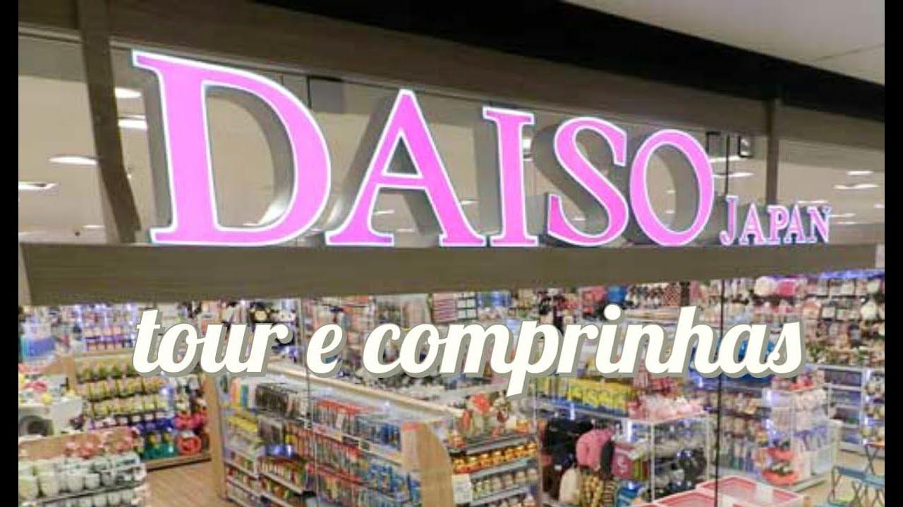 TOUR E COMPRINHAS NA DAISO JAPAN VLOG