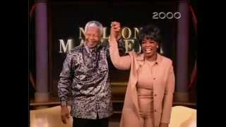 Repeat youtube video Nelson Mandela on Oprah Winfrey