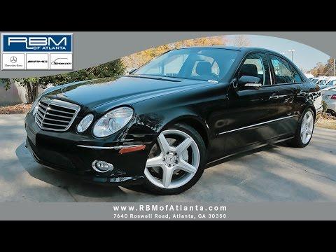 2008 Mercedes-Benz E-Class E550 Atlanta GA U12056A SOLD!