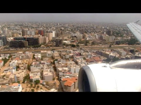 Tap Air Portugal A320 Landing Dakar Senegal
