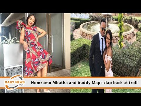 nomzamo and maps are they dating