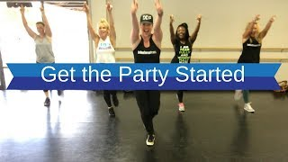 Pink - Get the Party Started | Dance Fitness choreography by Gino and Alana