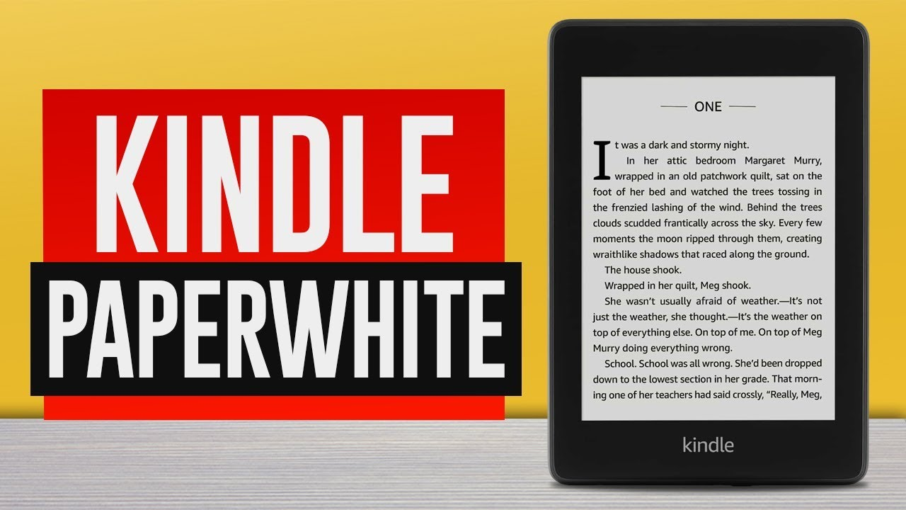 Kindle Paperwhite - REVIEW (Is It Good in 2021) - YouTube