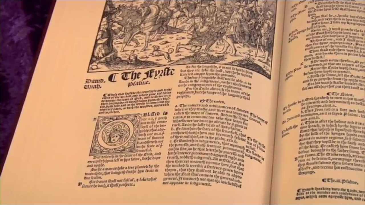 1549 Matthew-Tyndale Bible Facsimile Reproduction