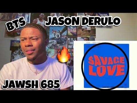 Jawsh 685, Jason Derulo, BTS - Savage Love (Laxed - Siren Beat) (BTS Remix - Visualizer) | Reaction