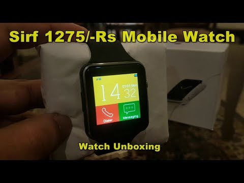 Smart Watch T7s GSM Multimedia Wrist Watch Review By M-Tech URDU/HINDI