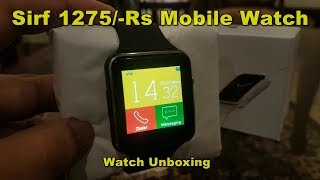 Smart Watch T7s GSM Multimedia Wrist Watch Review By M-Tech URDU/HINDI