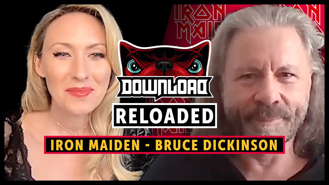 Download: RELOADED Iron Maiden Interview With Bruce Dickinson