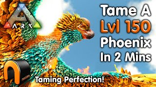 Ark THE BEST WĄY EVER TO TAME A PHOENIX How To Tame A Phoenix SOLO! #Ark