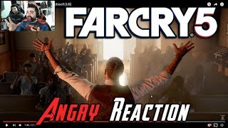 Far Cry 5 Reveal Trailer Angry Reaction
