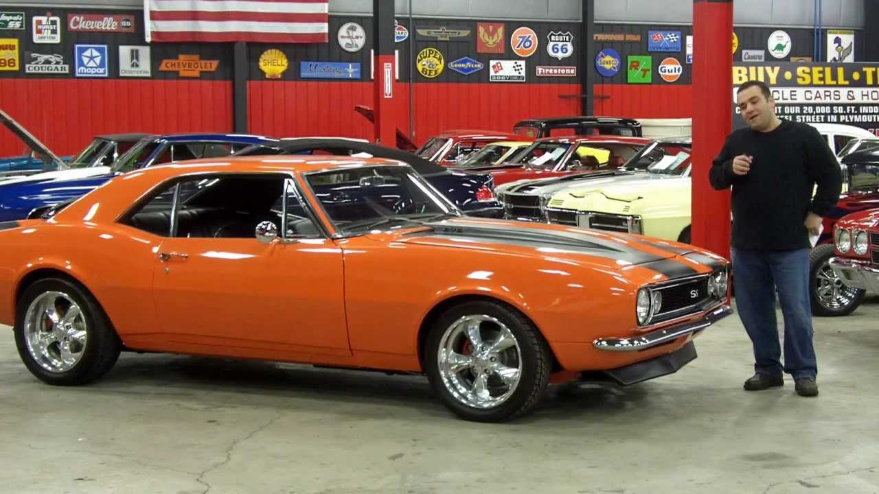 Image Gallery Orange Old Camaro
