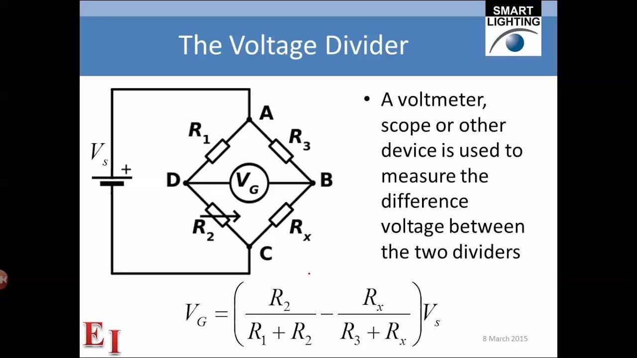 Voltage Divider Pt8 Youtube Diagram