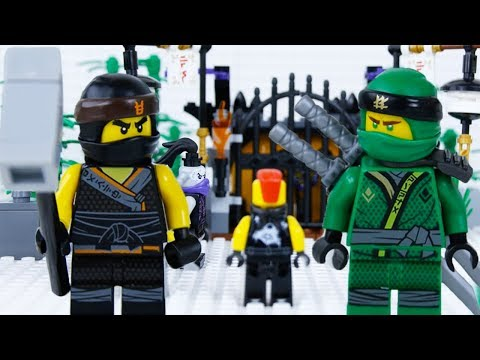 LEGO Ninjago Sons Of Garmadon STOP MOTION Episode 2: Mask Of Hatred | LEGO Ninjago | By LEGO Worlds