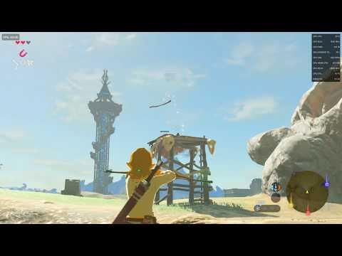 Zelda Breath Of the Wild : Benchmark