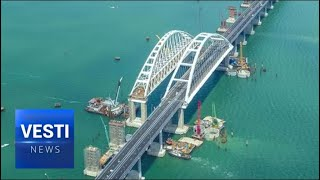 Crimea Has Officially Been Connected to Russia - Putin to Open Kerch Strait Bridge Today