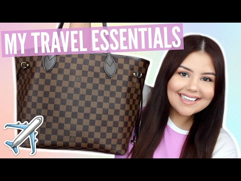 WHAT'S IN MY CARRY-ON BAG | SariReanna