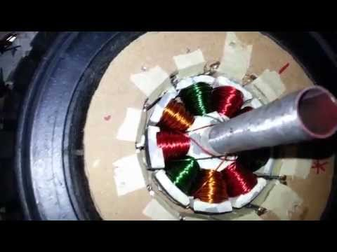 Electric Motor, Part 8 - The New Stator Works!