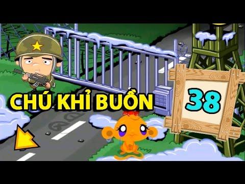 Game chú khỉ buồn 38 – Video hướng dẫn chơi game 24h