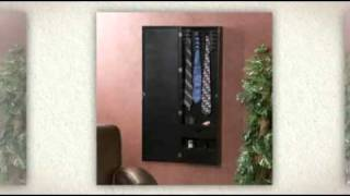 Men's Wall Mount Valet With Charging Station
