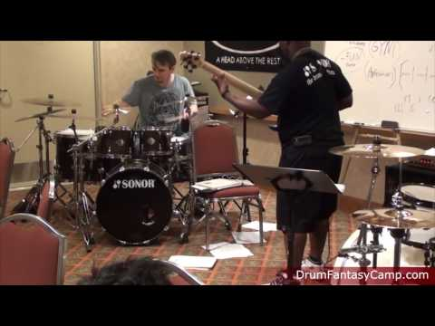 Gavin Harrison, Steve Smith, and Chris Coleman: Drum Fantasy Camp Flashback