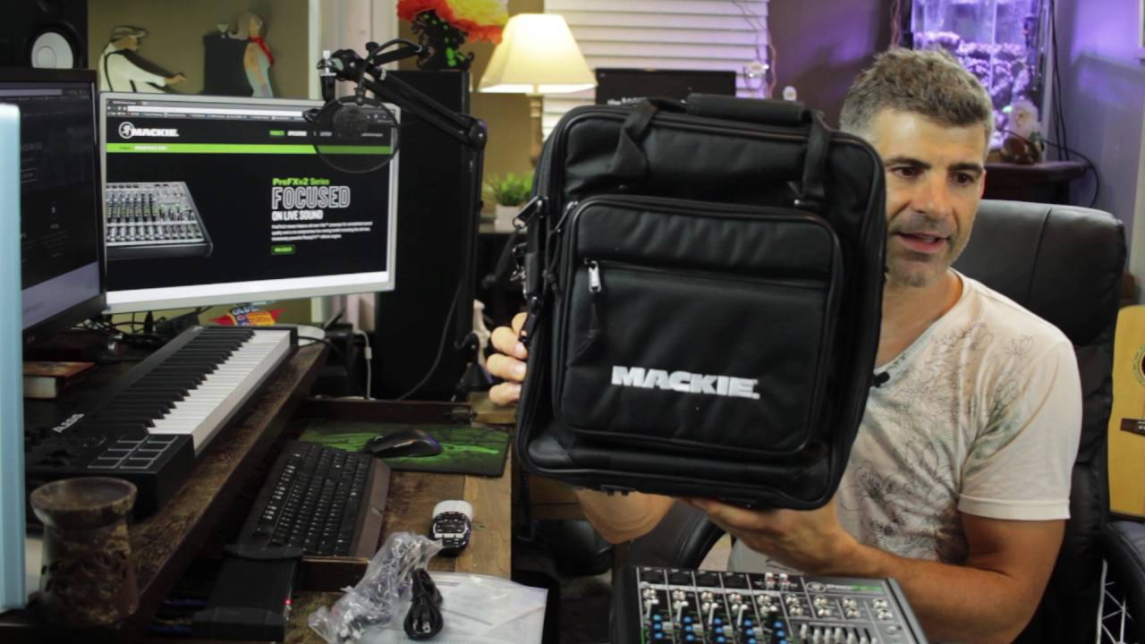 Profx8 V2 From Mackie Unboxed By The Webmaster E Part 1 Youtube
