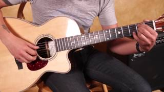 PT 2 Led Zeppelin - Going to California - Acoustic Fingerstyle - Guitar Lesson