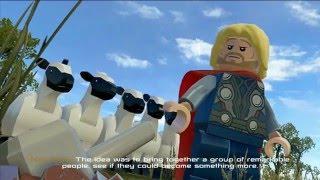 LEGO Marvel's Avengers Vita Gameplay
