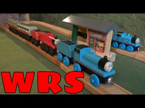 James Learns A Lesson / James and the Coaches Remake - WoodenRailwayStudio - Thomas Wooden Railway