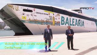 Olive Oil World Tour. Ferry Balearia.