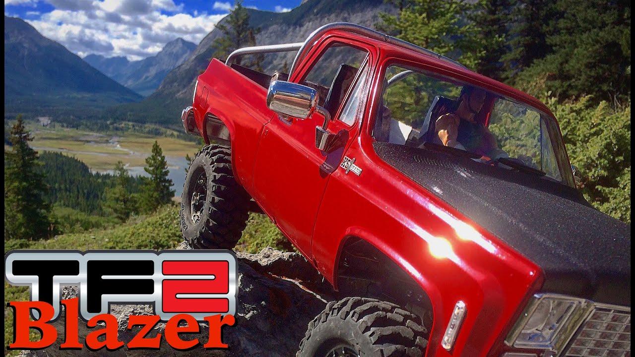 RC CWR RC4WD Chevrolet Blazer Hard Body first run - YouTube