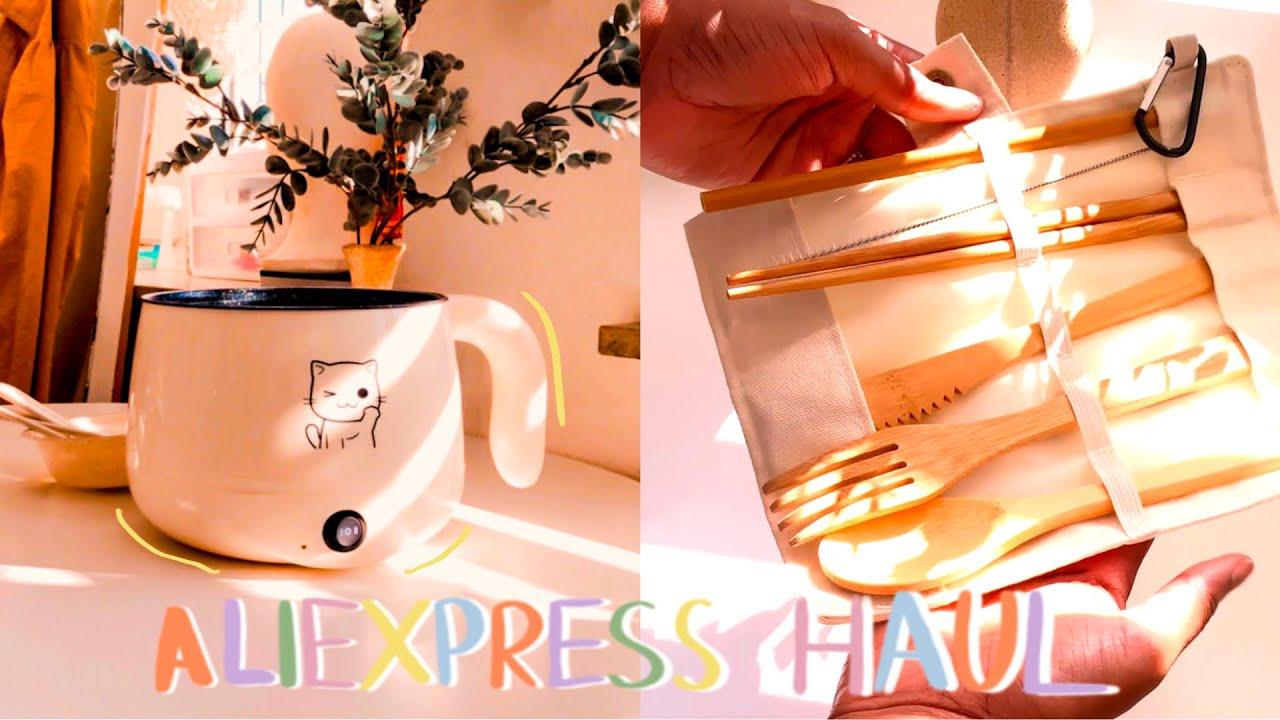 homebody vlog: aesthetic AliExpress haul + kitchen gadgets