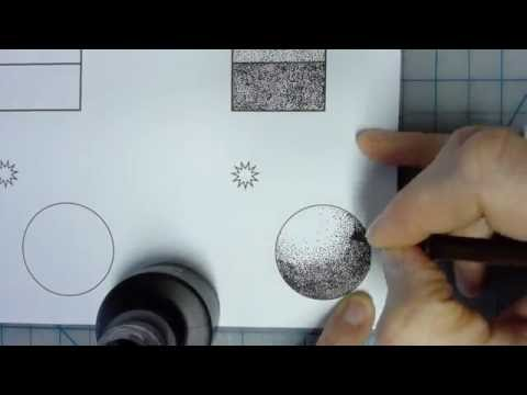 How To: Stipple With Pen & Ink