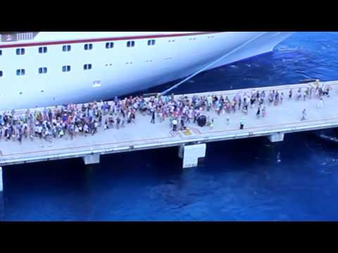 Thumbnail: Missed the Ship - Carnival Magic - Cozumel, Mexico - Aug. 12, 2014