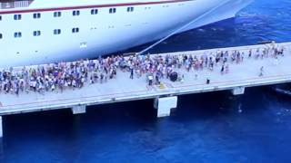 Missed the Ship - Carnival Magic - Cozumel, Mexico - Aug. 12, 2014
