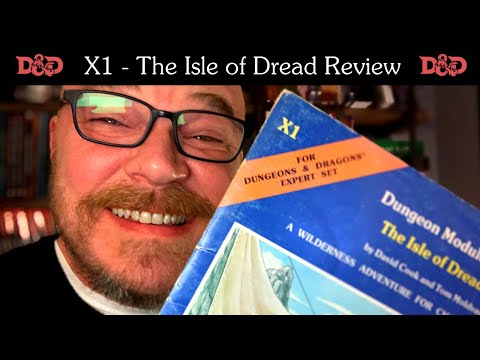 The Isle of Dread Review – Dungeons and Dragons Module X1