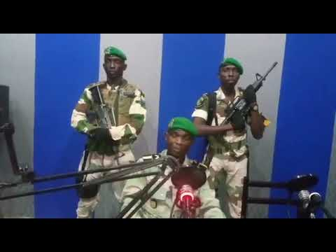 #BREAKING: Military coup underway in Gabon, according to broadcast on national radio