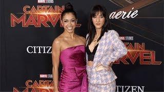 "Liza Koshy, Mariah Amato ""Captain Marvel"" World Premiere Red Carpet"