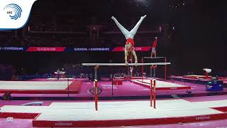 Oliver HEGI (SUI) - 2018 Artistic Gymnastics Europeans, qualification parallel bars