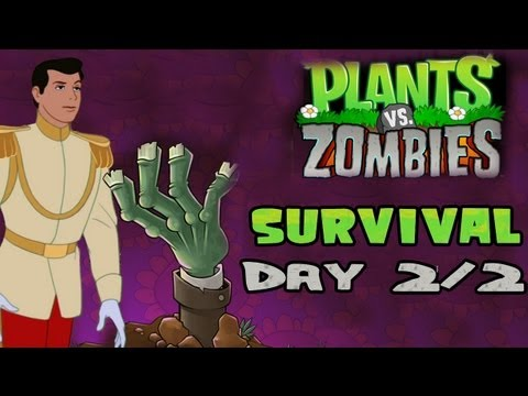 Plants V. Zombies [HD] [2] [Survival] - Day 2/2