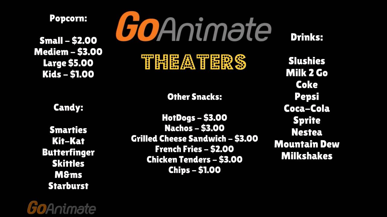 Movie Concession Stand For Kids