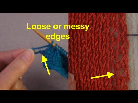 Troubleshooting Knitting Problems