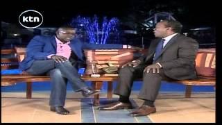 HILARIOUS; Daniel Ndambuki Churchill amazingly makes fun of Jeff Koinange.