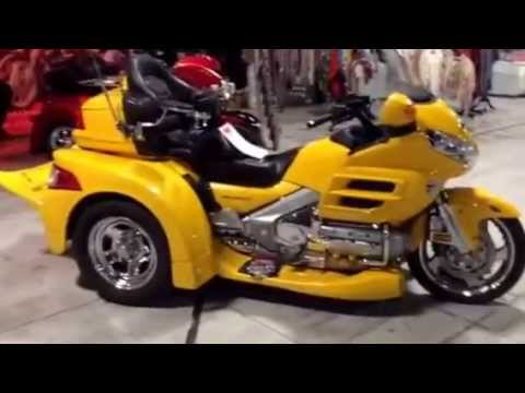 Honda Goldwing Razor Motor Trike conversion