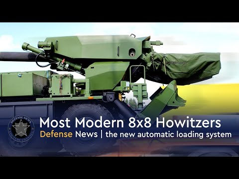 Top Most Modern 8x8 Wheeled Self Propelled