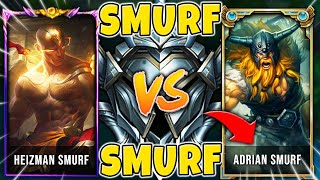 WHEN MY LEE SIN MEETS ADRIAN RIVEN IN SILVER ELO (SMURF VS. SMURF) - League of Legends
