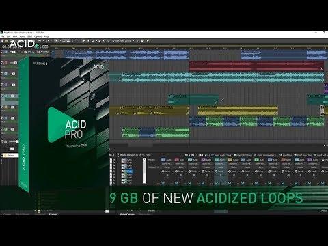 Magix Acid Pro 8 Trial | What is Acid Pro? Quick Overview