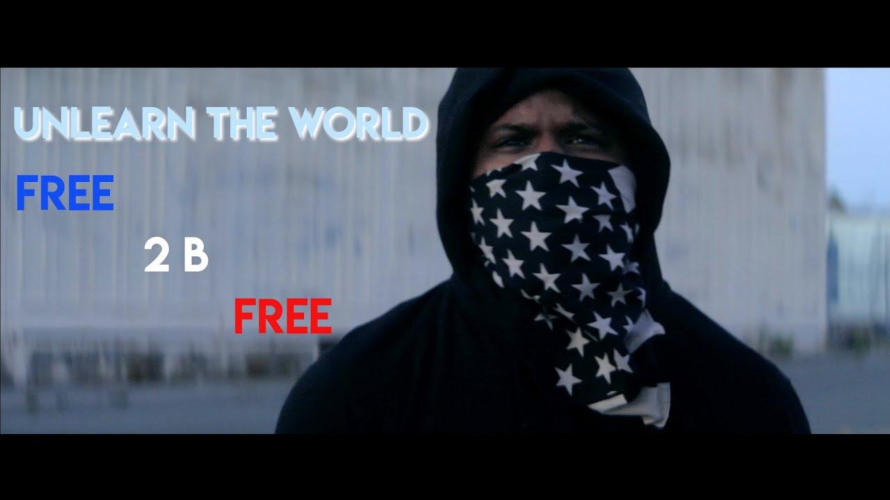 "Bay Area MC UnLearn The World Drops New Intense Visual ""Free 2 B Free"""
