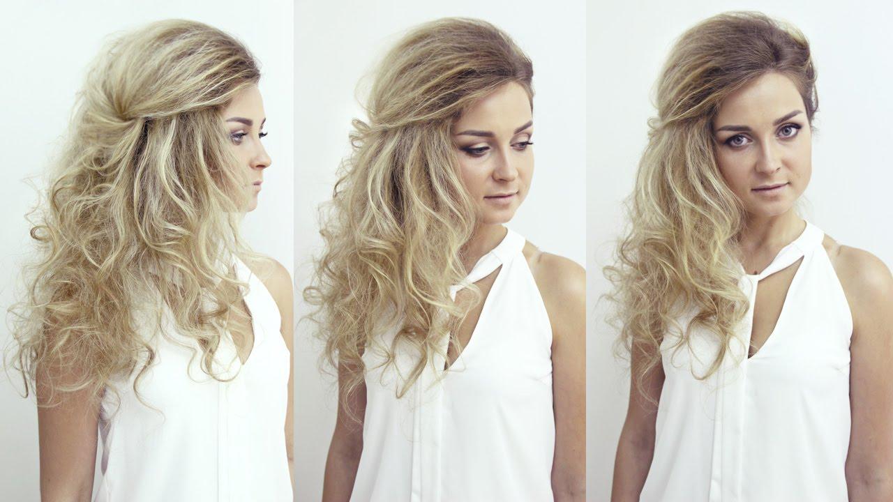 Прически для фотосессии на средние волосы